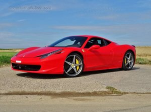 2011 FERRARI 458 For Sale by Auction