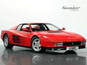 1990 G FERRARI TESTAROSSA 4.9 V12 MANUAL For Sale
