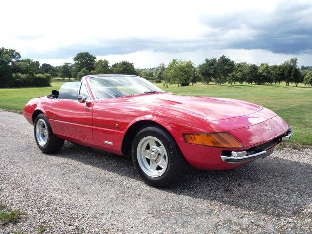 1971 Ferrari 365 GTB/4 Daytona Spyder For Sale (picture 1 of 6)