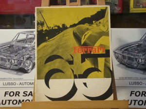 For sale original Ferrari yearbooks of 1965, 66 and 67 For Sale