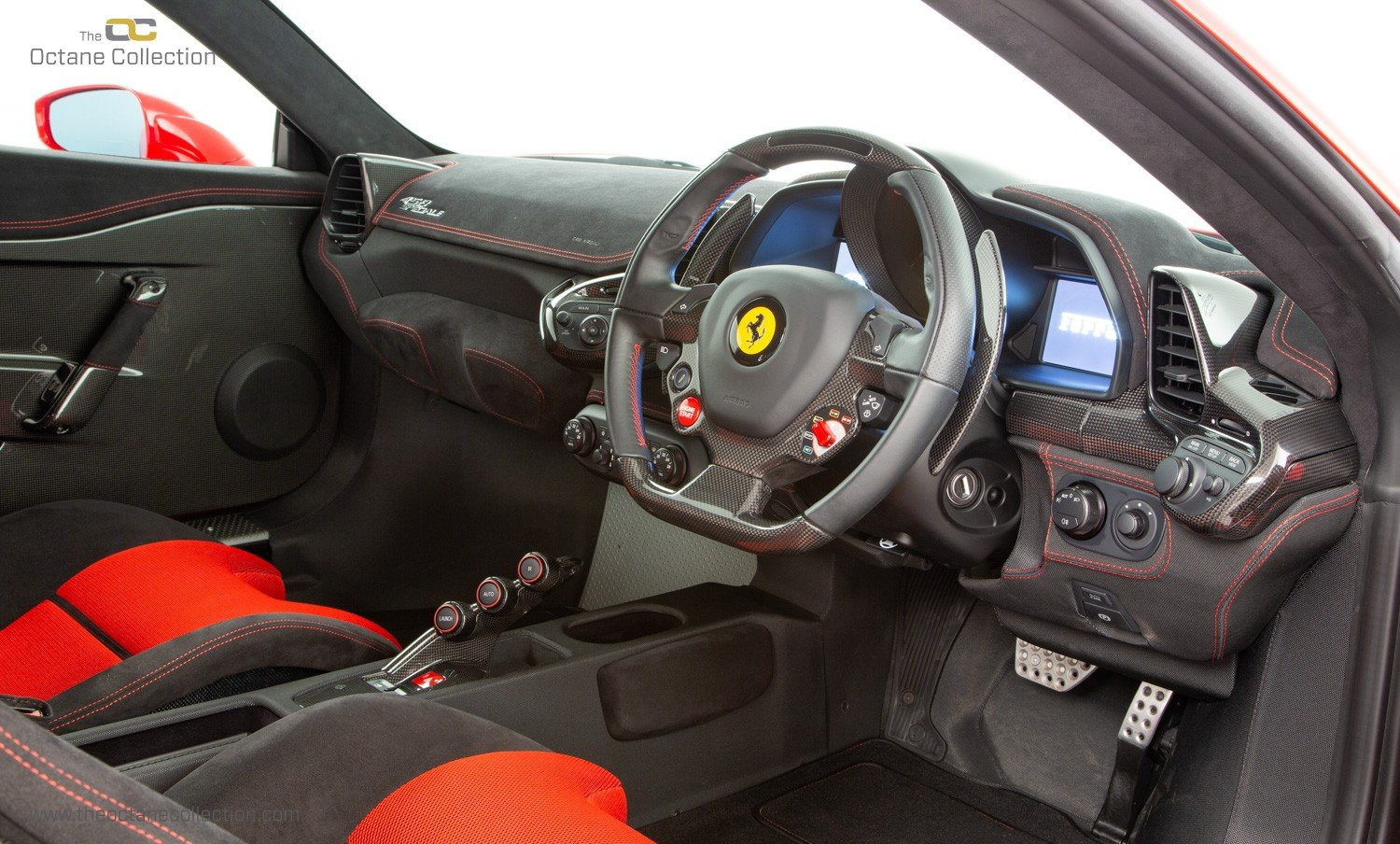 2016 FERRARI 458 SPECIALE // FFSH // CARBON EXTERIOR OPTIONS For Sale (picture 4 of 6)