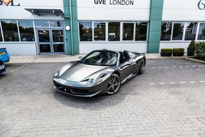 FERRARI 458 SPIDER 2014 SOLD