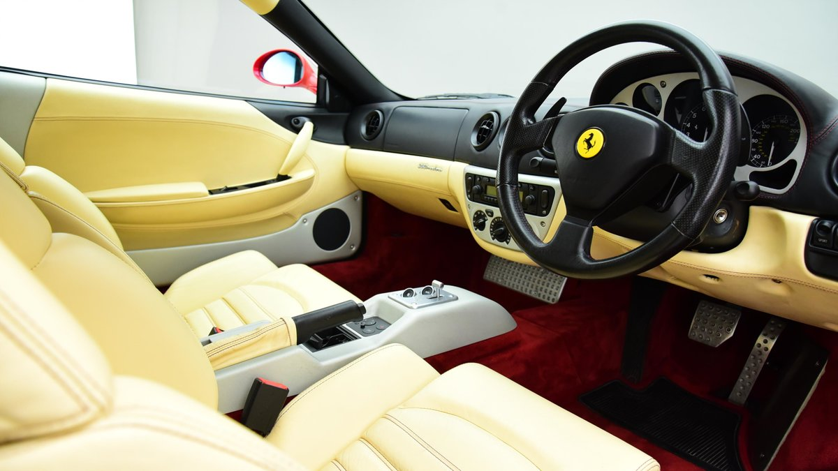 1999 Used FERRARI 360 3.6 MODENA 2 DOOR for sale For Sale (picture 2 of 6)