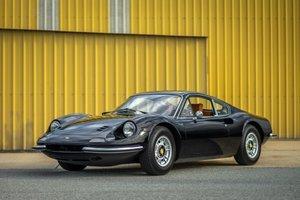 1970  Ferrari Dino 246 GT Coupe Tan(~)Daytona Inserts $360k For Sale