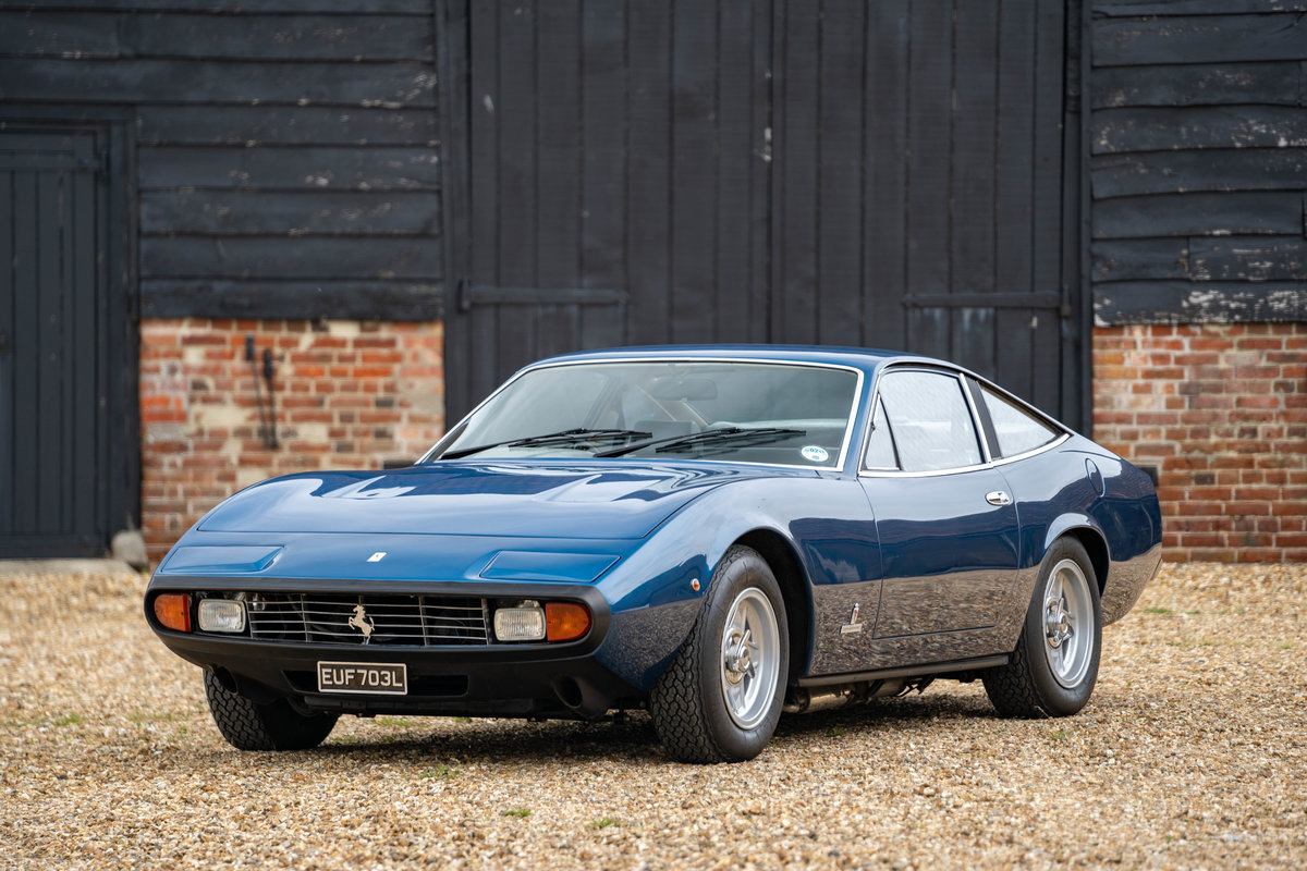 1972 Ferrari 365 GTC/4 - UK RHD with Factory AC For Sale (picture 1 of 6)