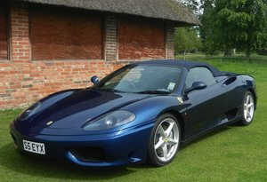 2003 Ferrari 360 Spider For Sale