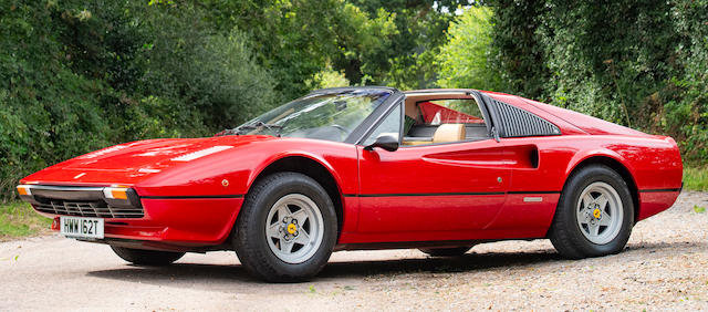 1978 FERRARI 308 GTS TARGA COUPÉ For Sale by Auction