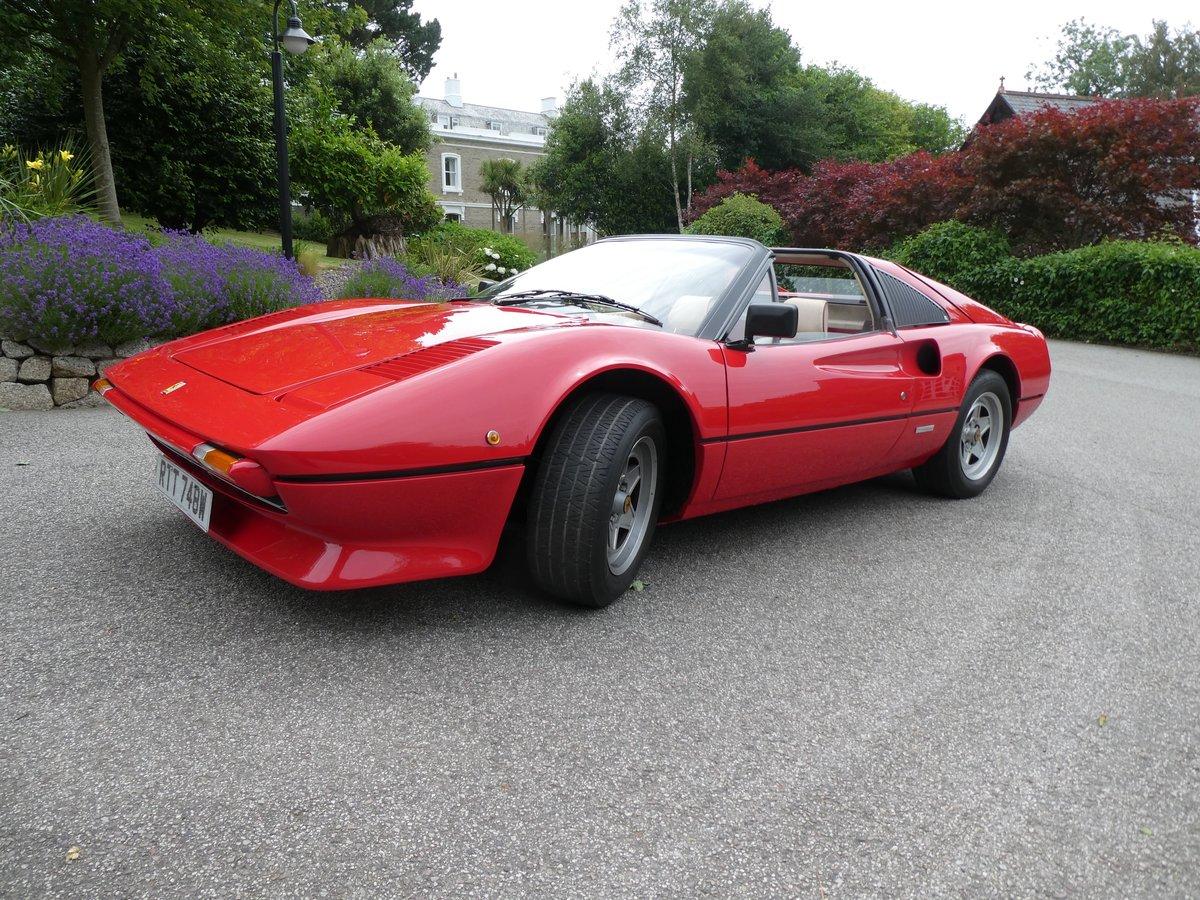 1981 Ferrari 308 GTSi RHD For Sale (picture 3 of 6)
