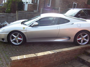 Ferrari 360 modena  2001 manual 6 speed rhd For Sale