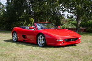 Picture of 1996 Ferrari F355 Spider Manual  SOLD