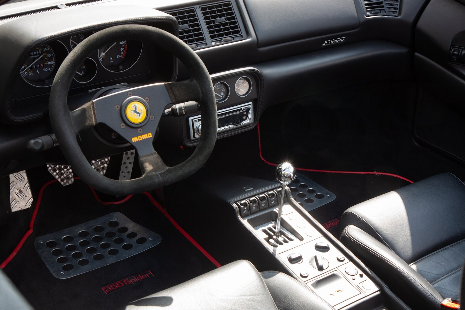 1996 Ferrari F355 Spider Manual LHD For Sale (picture 3 of 6)