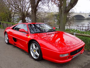 1998 FERRARI F355 GTS - LHD - ONLY 22K MILES WITH FFSH For Sale