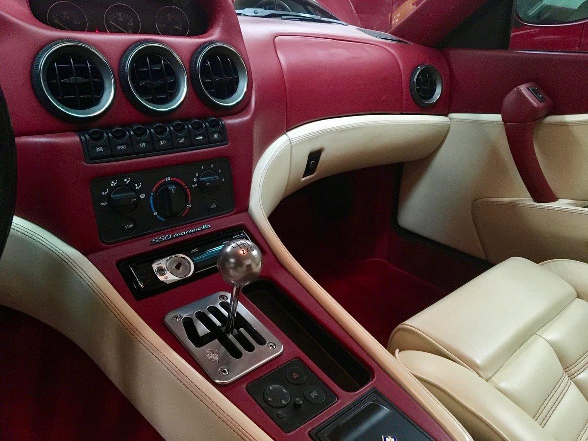 1998 Ferrari 550 Maranello For Sale (picture 5 of 7)