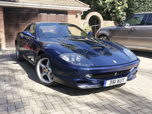 2000 A beautiful, well kept low milage 550 maranello