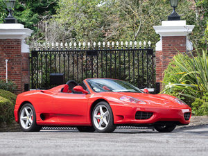2003 FERRARI F360 SPIDER For Sale by Auction