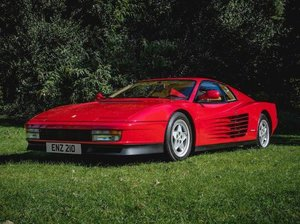 1990 FERRARI TESTAROSSA COUPÉ For Sale by Auction