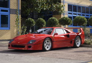 1990 Ferrari F40 Catalyst/Non-Adjust For Sale In London  For Sale
