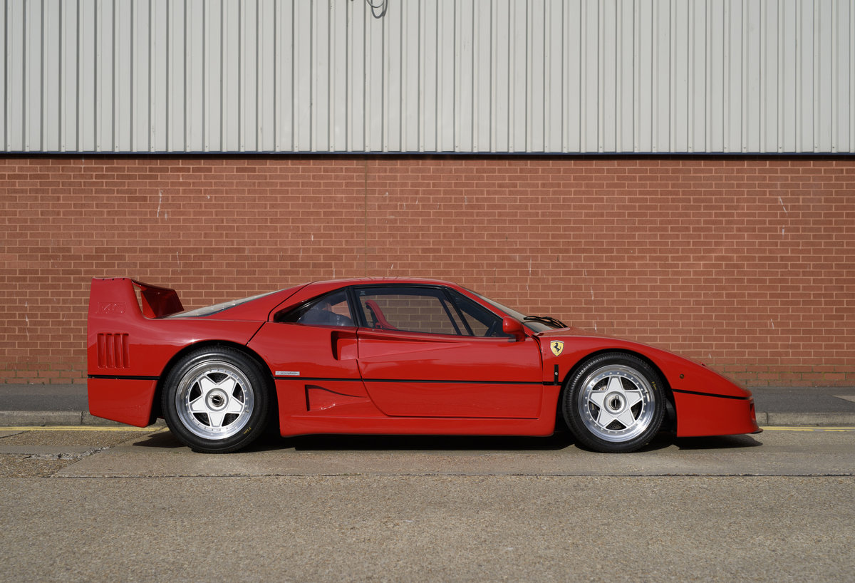 1990 Ferrari F40 Catalyst/Non-Adjust For Sale In London  For Sale (picture 5 of 24)