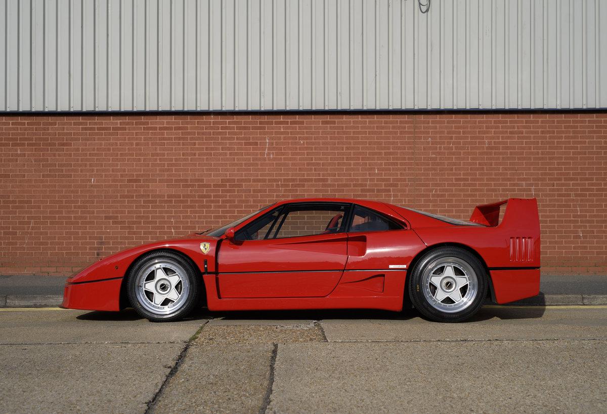 1990 Ferrari F40 Catalyst/Non-Adjust For Sale In London  For Sale (picture 6 of 24)