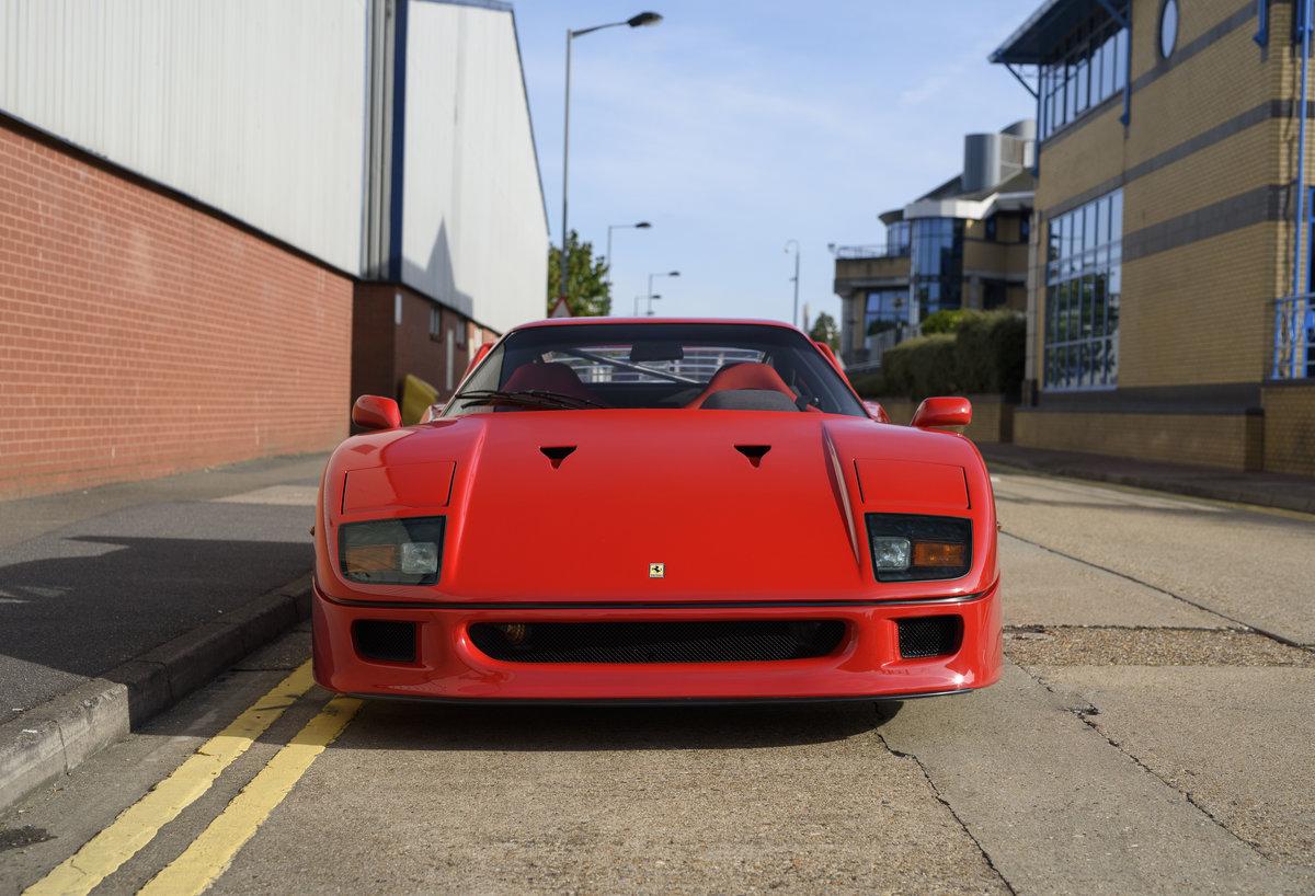 1990 Ferrari F40 Catalyst/Non-Adjust For Sale In London  For Sale (picture 7 of 24)