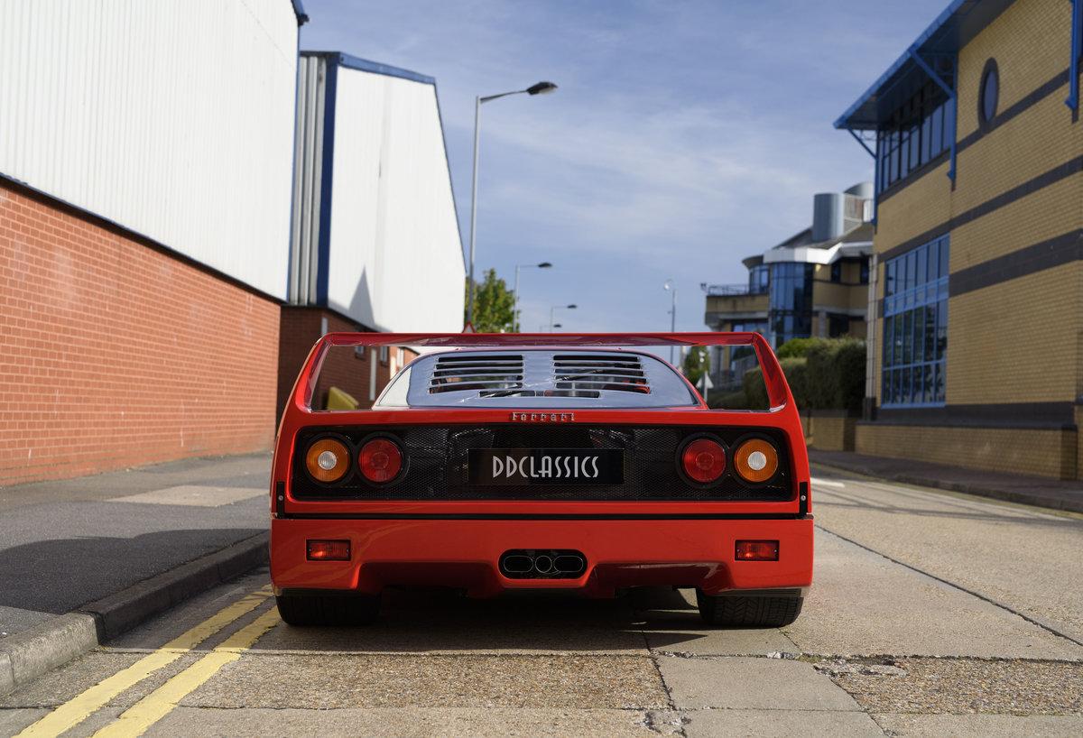 1990 Ferrari F40 Catalyst/Non-Adjust For Sale In London  For Sale (picture 8 of 24)