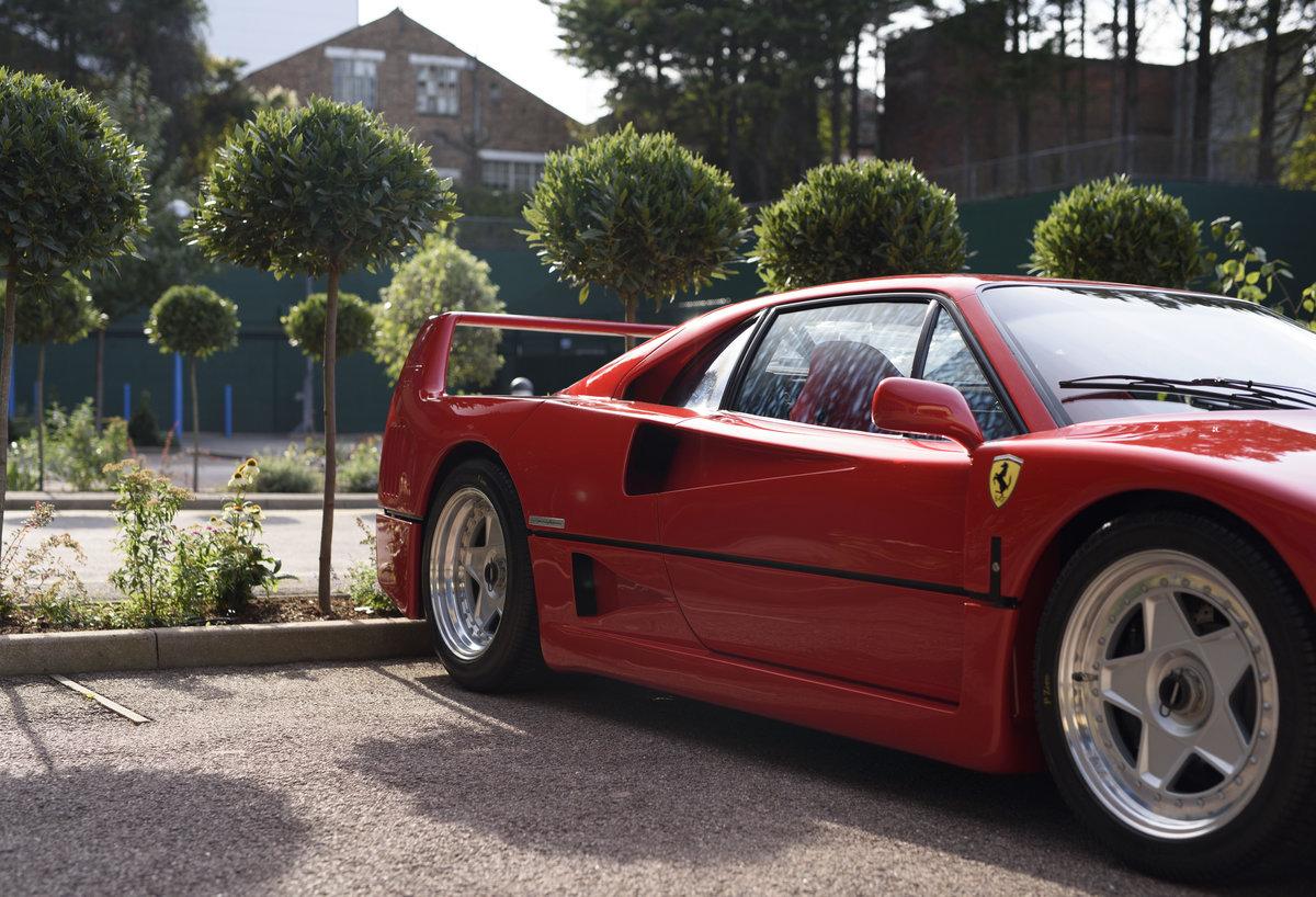 1990 Ferrari F40 Catalyst/Non-Adjust For Sale In London  For Sale (picture 9 of 24)