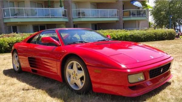 1992 Ferrari 348TS (Serie Speciale) Rare 1 of 100 low-km 12k For Sale (picture 2 of 6)