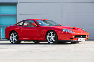 1998 Ferrari 550 Maranello Just 3445 Miles from new For Sale by Auction