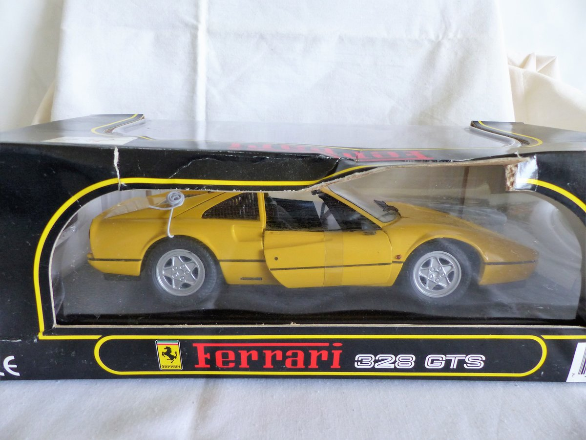 """ANSON"" FERRARI 328 GTS- Detailed1:18 SCALE MODEL. For Sale (picture 4 of 6)"