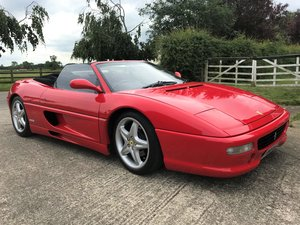 1996 Ferrari F355 Spider Manual - 22 Service Stamps For Sale by Auction