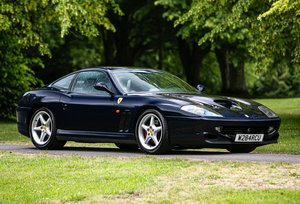 2000 Ferrari 550 Maranello Manual For Sale by Auction