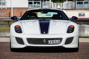 2011 Ferrari 599 GTO Right Hand Drive For Sale by Auction