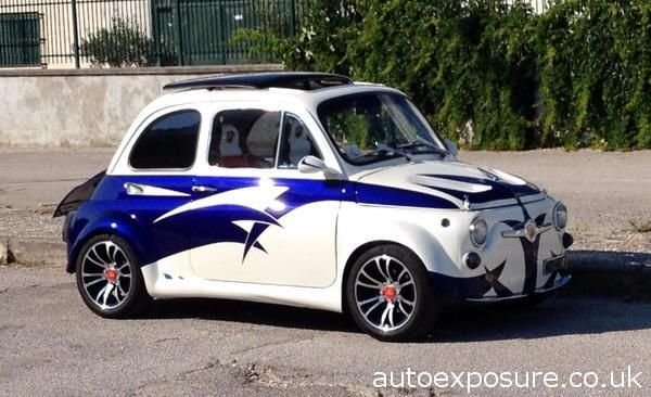 1972 FIAT 500 ARBARTH 695 SS EVOCATION LHD For Sale (picture 1 of 6)