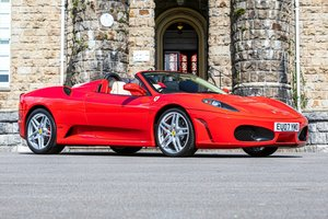 2007 Ferrari F430 Spider 60th Anniversary Ed. - 11,250 miles For Sale by Auction