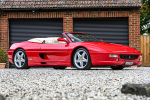 1996 Ferrari F355 Spider Manual For Sale