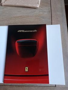 Ferrari 550 Maranello Full prestine Brouchure