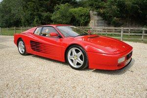 1994 Ferrari 512 TR - UK RHD car, only 29,000 miles For Sale