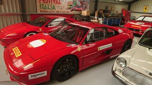 Ferrari F355 GTB Road legal race car to challenge spec