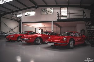 Ferrari Classic Car & Supercars Storage
