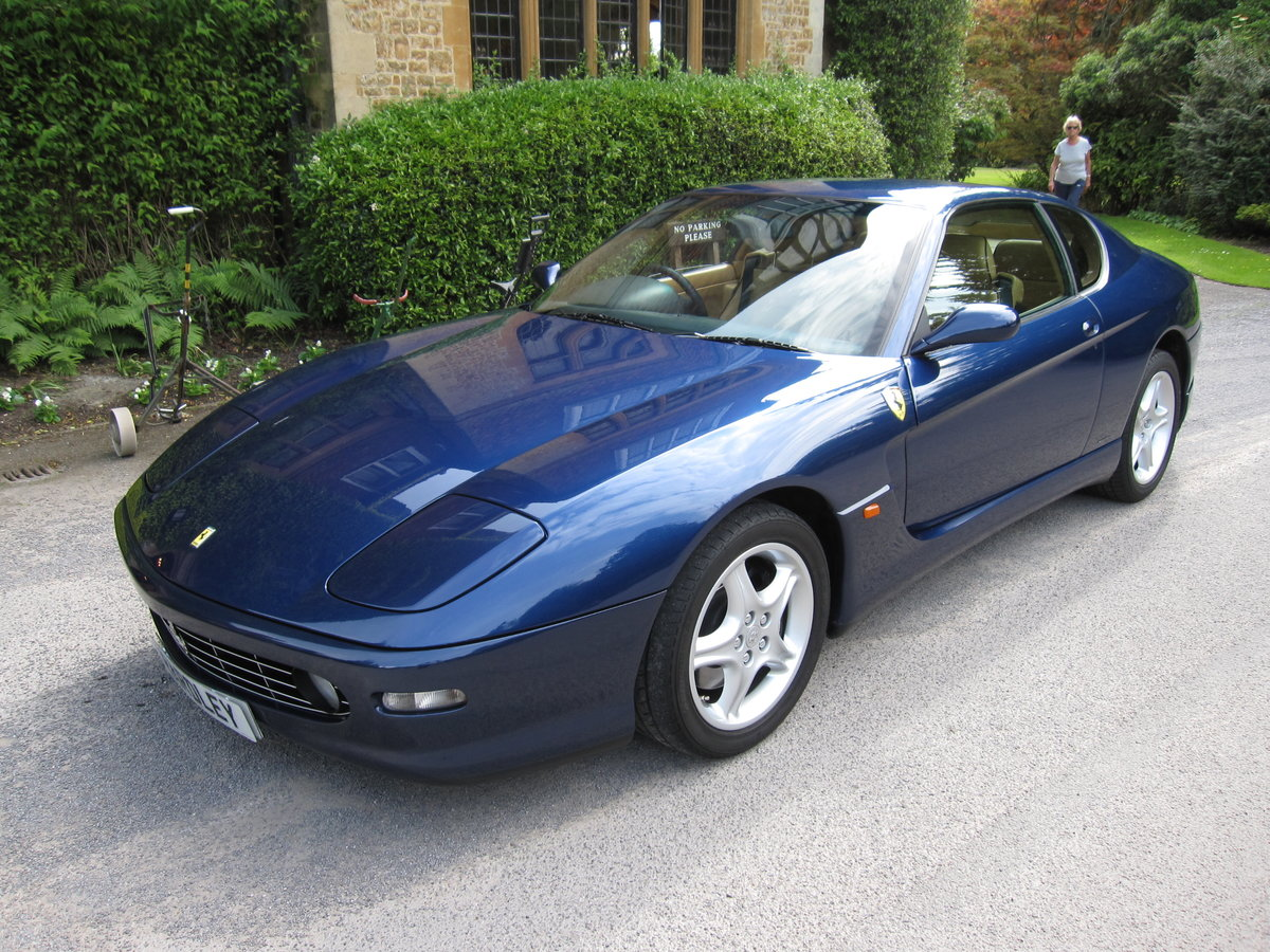 1999 Ferrari 456 M GTAutomatic with just 4,500 miles For Sale (picture 1 of 1)