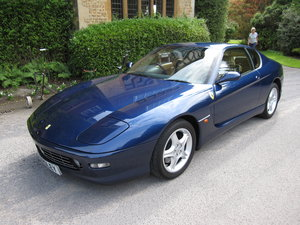 1999 Ferrari 456 M GTAutomatic with just 4,500 miles For Sale