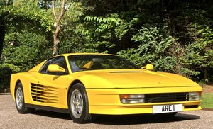 1991 FERRARI TESTAROSSA   just had full service LHD For Sale