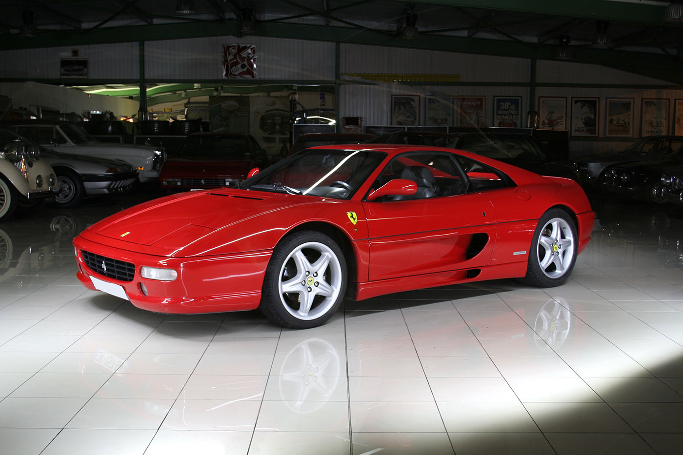 2000 - Ferrari 355 F1 GTB Rosso Corsa - Black For Sale (picture 1 of 6)