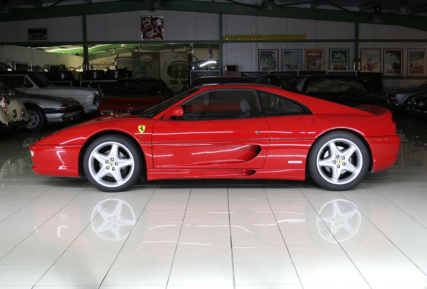 2000 - Ferrari 355 F1 GTB Rosso Corsa - Black For Sale (picture 2 of 6)