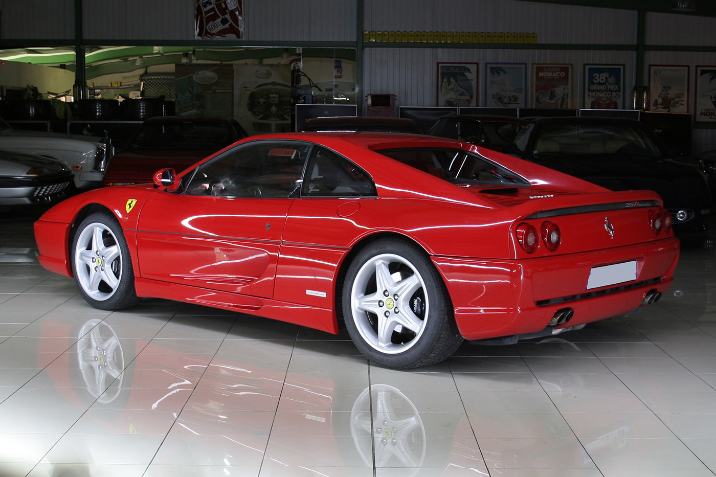 2000 - Ferrari 355 F1 GTB Rosso Corsa - Black For Sale (picture 3 of 6)
