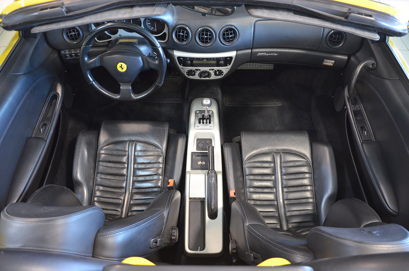 2001 - Ferrari 360 Spider Manual LHD Giallo Modena For Sale (picture 4 of 6)