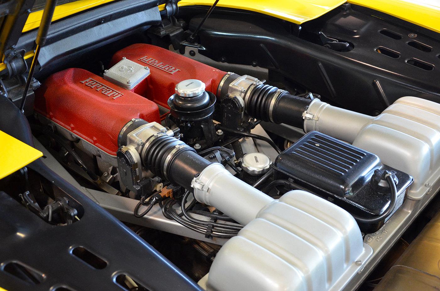 2001 - Ferrari 360 Spider Manual LHD Giallo Modena For Sale (picture 5 of 6)