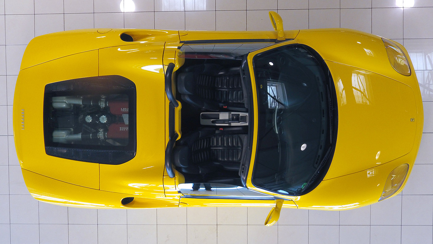 2001 - Ferrari 360 Spider Manual LHD Giallo Modena For Sale (picture 6 of 6)