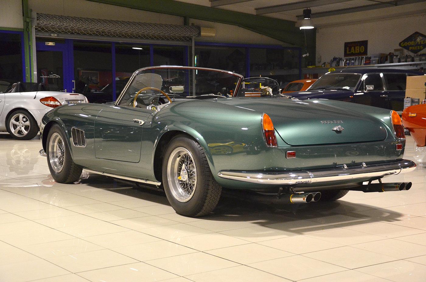 1963 Ferrari 250 GT California SWB Aluminium Body  For Sale (picture 3 of 6)