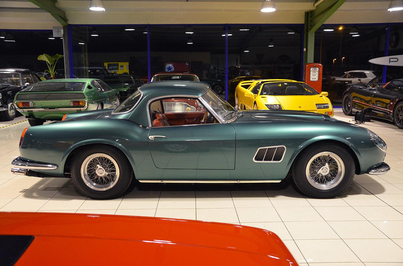 1963 Ferrari 250 GT California SWB Aluminium Body  For Sale (picture 6 of 6)
